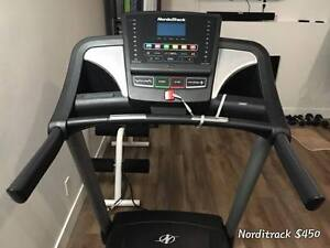 AS NEW - TREADMILL & ABDOMINAL EXERCISE - SALE