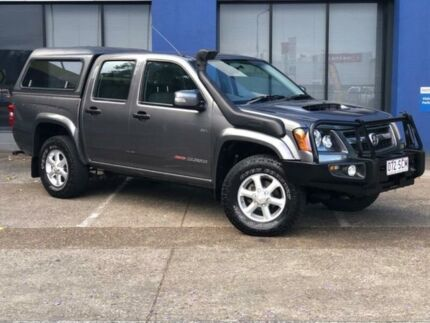 2010 Holden Colorado RC MY11 LX-R (4x4) Grey 5 Speed Manual Crew Cab Pickup Eagle Farm Brisbane North East Preview