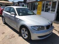 2007 BMW 1 SERIES 2.0 120d SE 5dr, AUTOMATIC, DIESEL, 44,100 MILES, LOW MILEAGE.