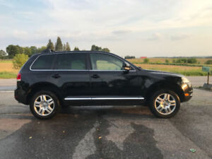 Trade 2005 Volkswagen Touareg 4.2 for chrysler town and country