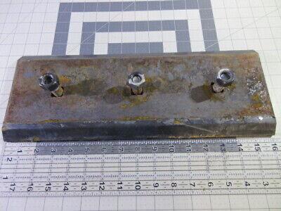 Bobcat Bucket Cutting Edge Replaceable 16 X 6 X 58 Reversible 3 Bolt