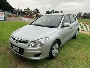 2009 Hyundai i30 FD MY09 SX Silver 4 Speed Automatic Hatchback Prospect Prospect Area Preview