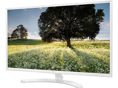 "شاشة ليد جديد LG 32MP58HQ-W White 31.5"" FHD IPS Widescreen LED Backlight Monitor 5ms 1920 x 10"