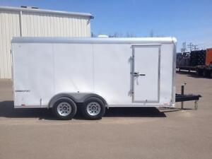 2016 Pace 7' x 16' Cargo Sport Enclosed Trailer (5200lbs axles)