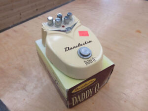 **ULTIMATE OVERDRIVE** Danelectro Daddy O. Overdrive Pedal