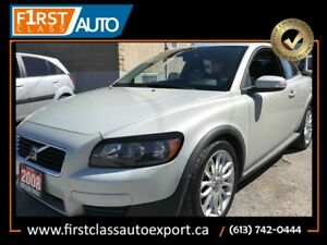 2008 Volvo C30 - VERY SPACIOUS - 5 CYLINDER 2.4L ENGINE - CLEAN