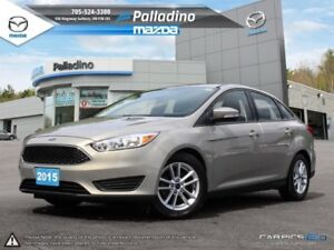 2015 Ford Focus SE - HEATED SEATS AND STEERING WHEEL