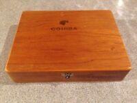 "Cuban Cigar Box Esplendidos ""Churchill"" Original"