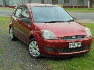 2007 Ford Fiesta WQ LX Tango 5 Speed Manual Hatchback Albert Park Charles Sturt Area Preview