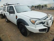 2011 Ford Ranger PK XL (4x4) White 5 Speed Manual Dual Cab Pick-up Bohle Townsville City Preview