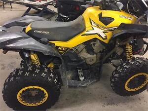 2013 Can Am Renegade xxc 1000