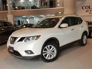 2014 Nissan Rogue SV-7 PASSENGER-TECH-NAVI-PANO ROOF-AWD