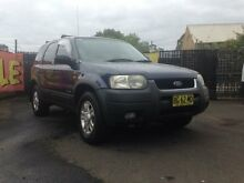 2001 Ford Escape BA XLT Blue 4 Speed Automatic Wagon Woodbine Campbelltown Area Preview