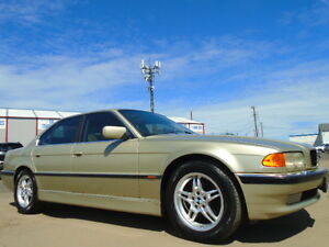 2000 BMW 740I--A SPEC--LEATHER-SUNROOF-DRIVES EXCELLENT