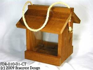 Mini-Wee Glen, Cedar Hanging Bird Feeder