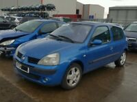 BREAKING RENAULT CLIO 1.4 2003 ALL PARTS ARE AVAILABLE