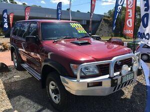2000 Nissan Patrol GU II ST Red 4 Speed Automatic Wagon Buderim Maroochydore Area Preview