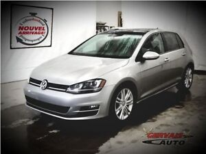 Volkswagen Golf TDI Highline GPS Fender Cuir Toit Panoramique MA