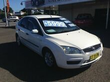 2006 Ford Focus LS LX White 5 Speed Manual Hatchback Broadmeadow Newcastle Area Preview