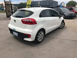 2016 Kia Rio UB MY16 S White 4 SP AUTOMATIC Hatchback