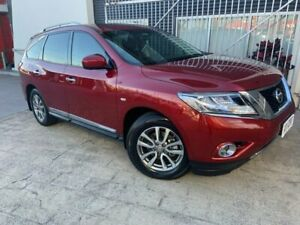 2016 Nissan Pathfinder R52 MY16 ST-L X-tronic 4WD Red 1 Speed Constant Variable Wagon Springwood Logan Area Preview