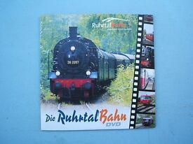 Train DVD's - 2 off Steam Locomotives Railway Engines Etc