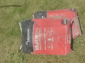 4 bags of cement left over from a job