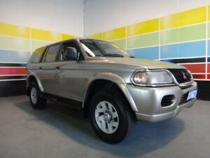 2003 Mitsubishi Challenger PA-MY04 (4x4) Gold 4 Speed Automatic 4x4 Wagon Wangara Wanneroo Area Preview