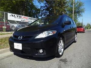 2007 MAZDA 5 GT*AUTO**LEATHER LOADED**6 PASSENGER