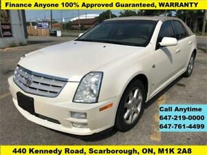 2007 Cadillac STS AWD FINANCE 100% APPROVED GUARANTEED WARRANTY