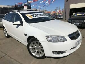 2012 Holden Commodore VE II MY12 Equipe White 6 Speed Automatic Sportswagon Brooklyn Brimbank Area Preview