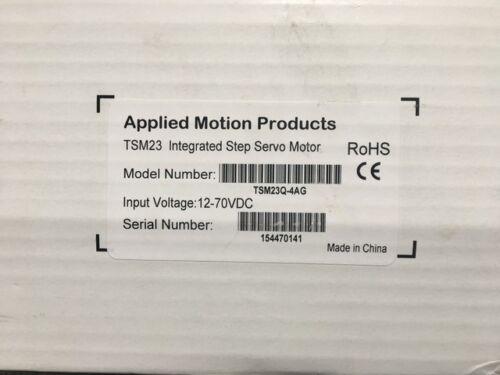 NEW* APPLIED MOTION TSM 23Q-4AG INTEGRATED STEP SERVO MOTOR (TSM23Q-4AG)