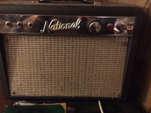Early 60's National Guitar Amp