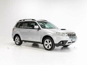 2009 Subaru Forester MY09 XT Silver 4 Speed Auto Elec Sportshift Wagon Cooee Burnie Area Preview