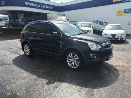 2013 Holden Captiva CG MY13 5 AWD LTZ Black 6 Speed Sports Automatic Wagon