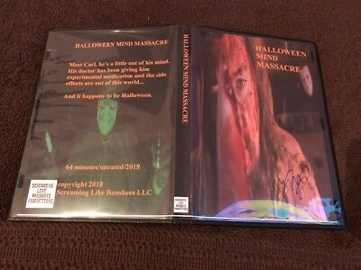 Halloween Mind Massacre DVD>Screaming Like Banchees>Obscure Horror>Rare>Signed>](Horror Movies Like Halloween)