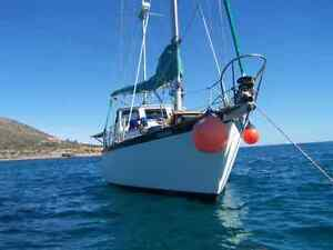 1978 Cooper Sea Bird 41 foot sailboat in Mexico, Land trades?