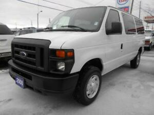 2008 FORD E350 XL 12Passenger Loaded Certified ONLY 144,000KMs