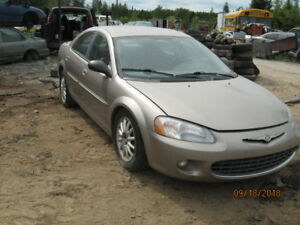 Parting out 2003 Sebring, 89,757 kms,