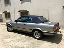 1989 BMW 320i  Silver 5 Speed Manual Convertible Brendale Pine Rivers Area Preview