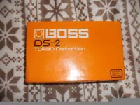 BODD DS2TURBO DISTORTION PEDAL FOR ELECTRIC GUITAR