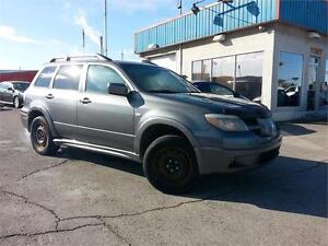 2006 Mitsubishi Outlander 4X4 LIMITED CUIR / TOIT/8PNEUS + MAGS!