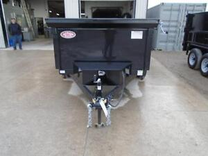 2017 6X10 DUMP TRAILER - BUILT TO LAST - BEST BANG FOR YOUR BUCK London Ontario image 2