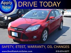 2012 Ford Focus SEL - LEATHER, SUNROOF
