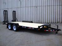 16' Contractor Package Float Trailer - Loaded, Ready to Work