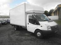 Ford Transit 125 Luton with Taillift] DIESEL MANUAL WHITE (2014)