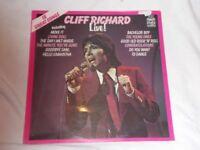 Vinyl LP Cliff Richard Live ! MFP 50337 Stereo 1972