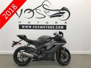 2018 Yamaha YZF-R6AJG - V3158 - No Payments For 1 Year**