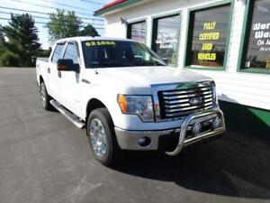 2012 Ford F-150 XLT Crew Ecoboost for $239 bi-weekly all in!