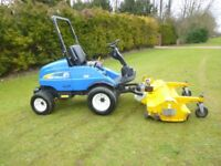 """NEW HOLLAND G6035 WITH 64"""" MUTHING FLAIL"""